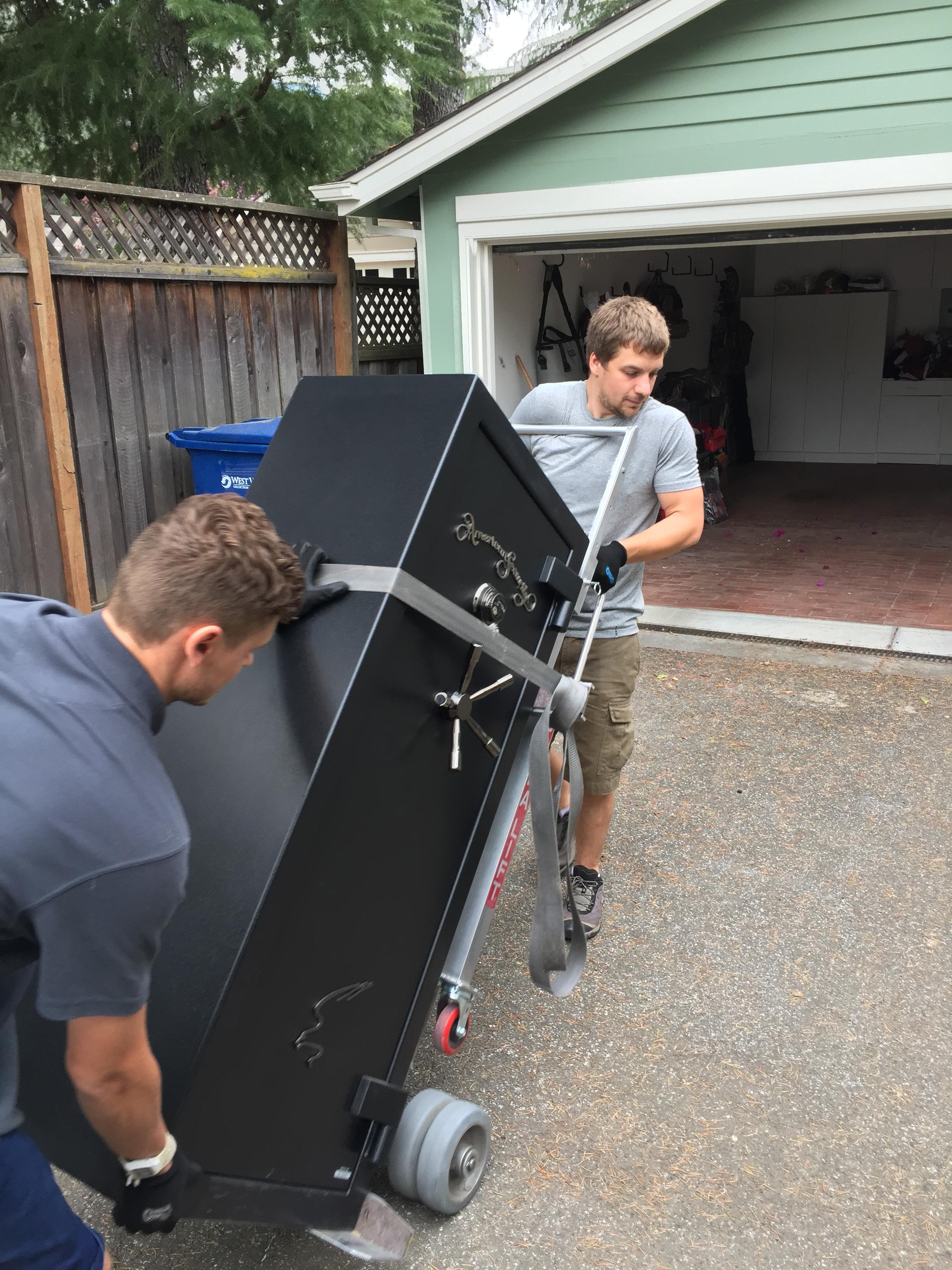 gun Safe movers San Jose California bay area
